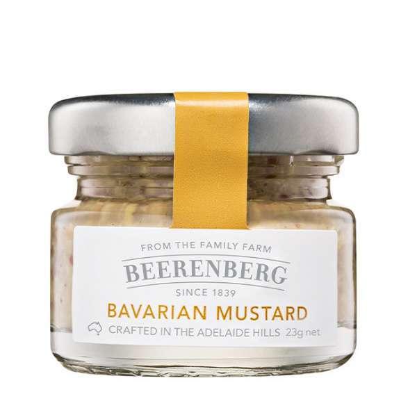 Bavarian Mustard 23g glass Beerenberg