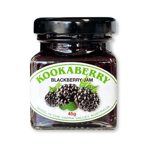JAM BLACKBERRY JAR Kookaberry yarra valley