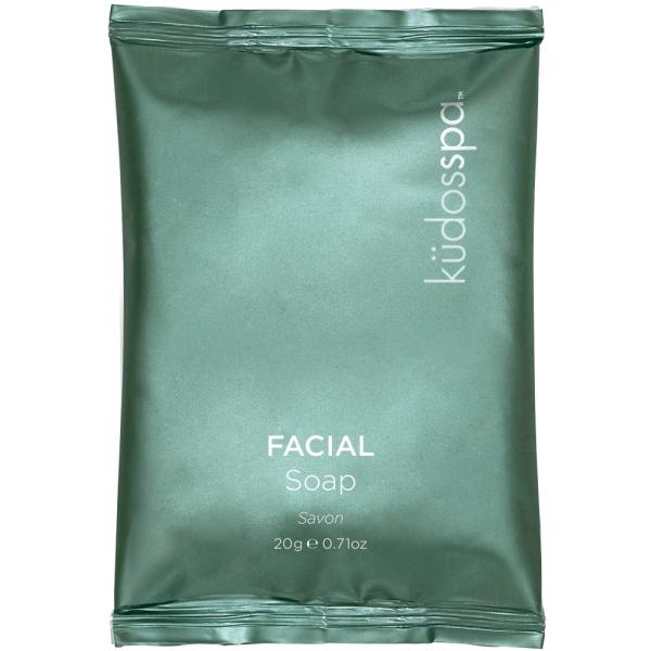 Soap Round 20Gm Frosted Satchel Kudos Spa