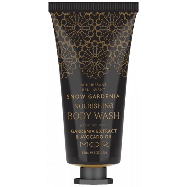 Nourishing Body Wash Mor Snow Gardenia