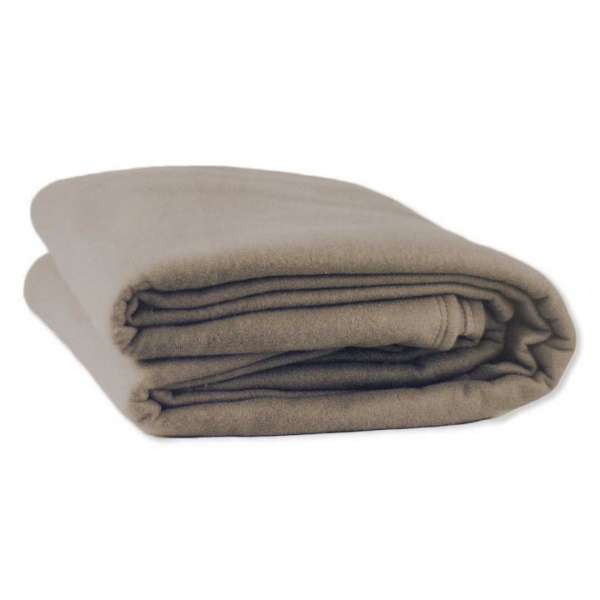Blanket Polar Fleece 360Gsm Latte