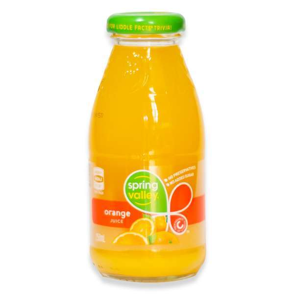 Juice Orange Spring Valley (bottle)