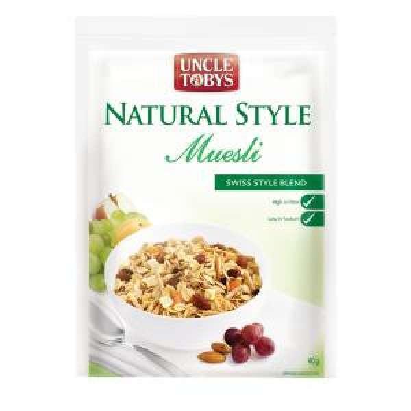 Muesli P/C Natural Uncle Toby's