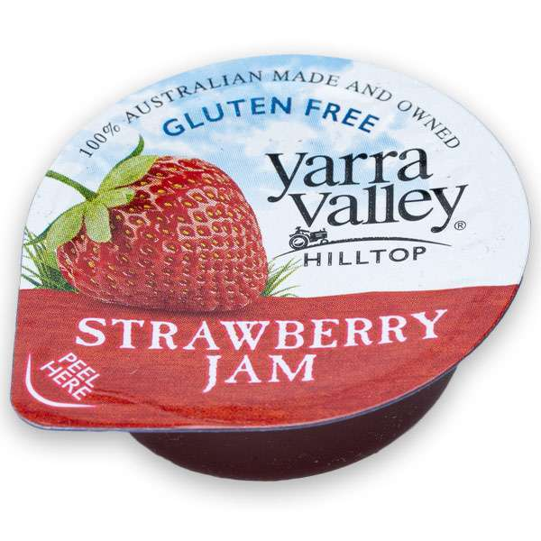 Jam P/C Strawberry Yarra Valley Jam