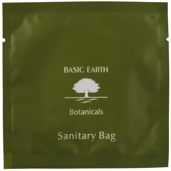Sanitary Bag Frosted Sachet Basic Earth