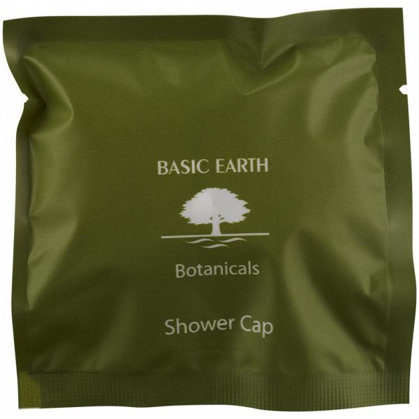 Shower Cap Frosted Sachet Basic Earth