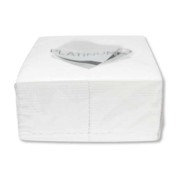Napkin White 2Ply Dinner Quilted Gt 1/8 Fold