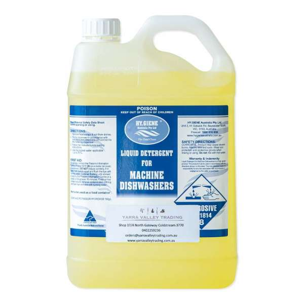 DISHWASHING LIQUID AUTO HY.GIENE (5LTR TAP TO SUIT AVAILABLE)
