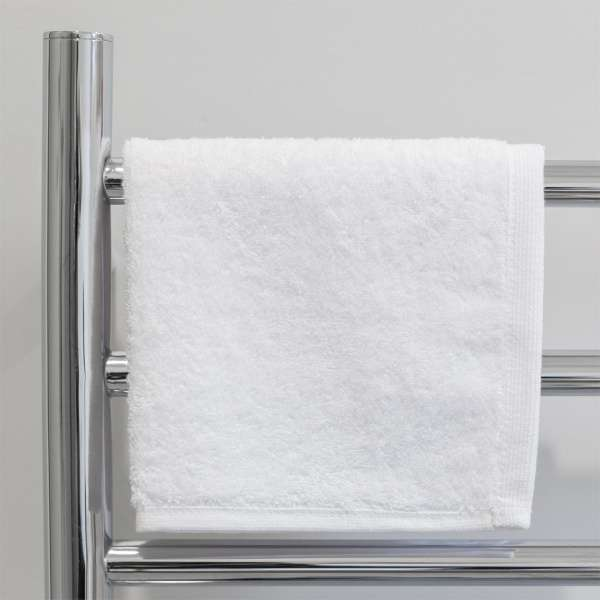 Ultra Face Washer White 625Gsm Alliance