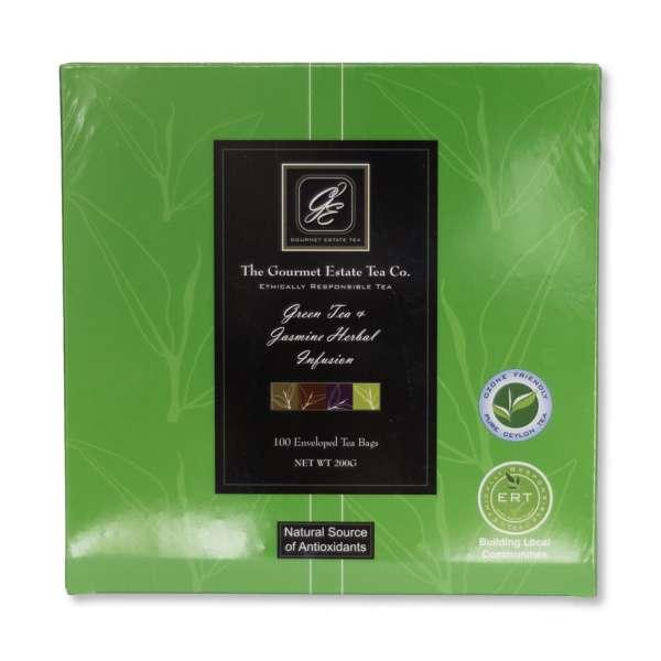 Tea Green / Jasmin Envelope Gourmet Estate