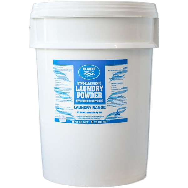 LAUNDRY POWDER premium Hypo-Allegenic with fabric conditioner. Hy Giene