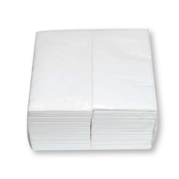 Napkin White 2 Ply Lunch Fold (Gt)