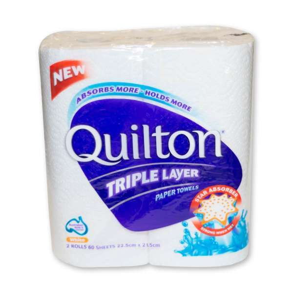 Kitchen Paper Towel Twin Pack 3Ply