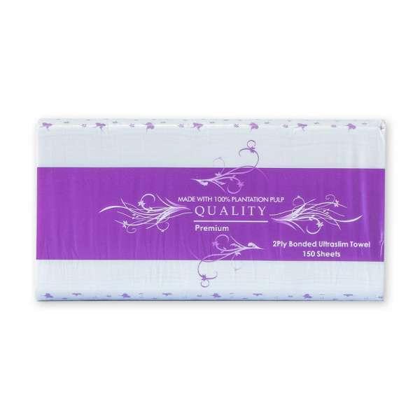 Quality Interleaved Towel 2Ply 24 X 24Cm 2400
