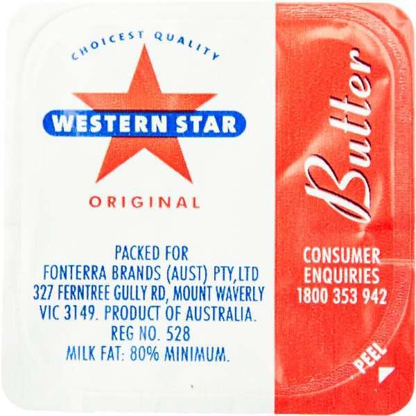 Butter P/C Minidish Western Star